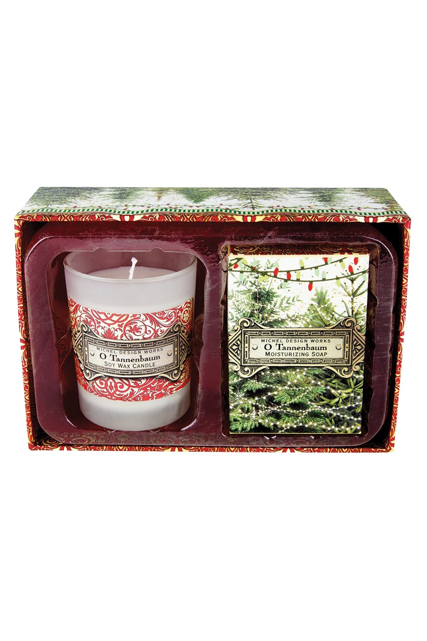 O Tannenbaum Candle & Soap Gift Set