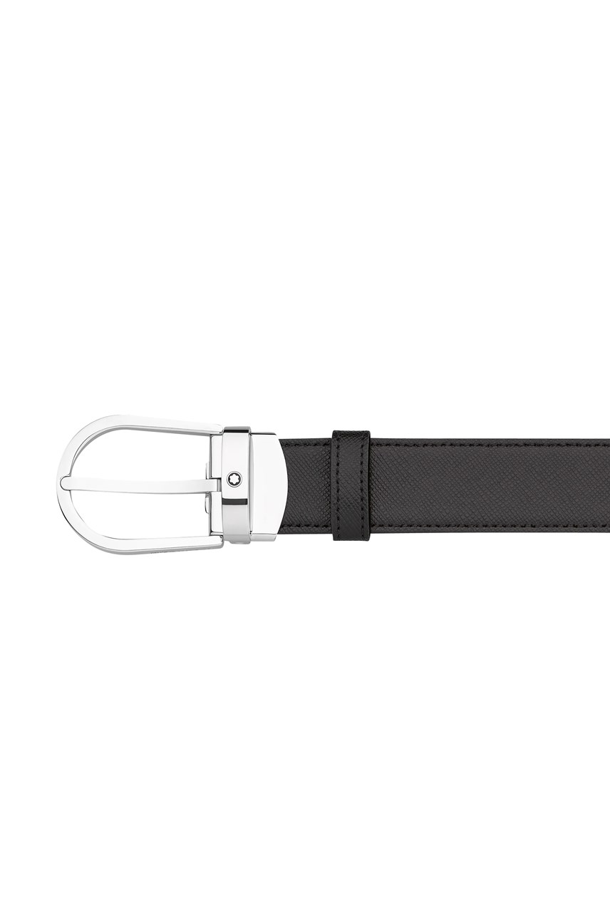 Horseshoe Shiny Stainless Steel Pin Buckle Belt