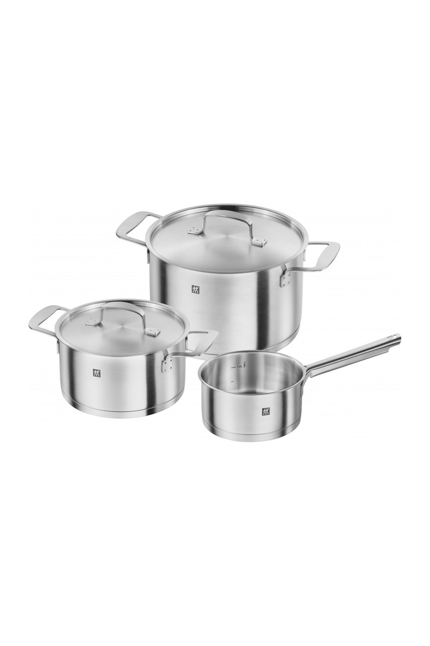 Base 3-Piece Cookware Set