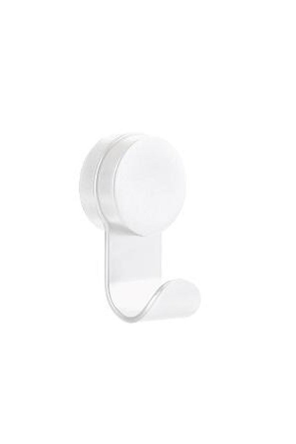 Puck Removable Hook - White