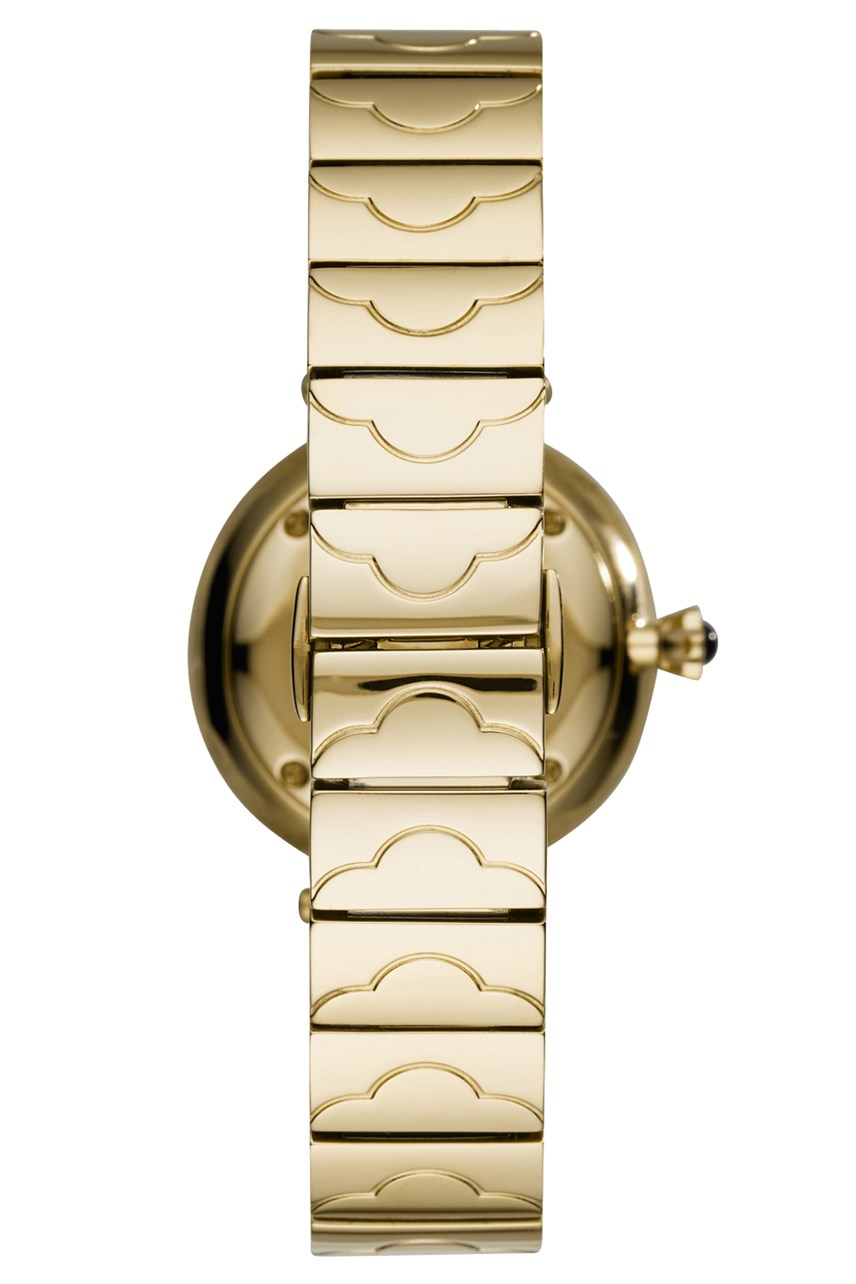Women's Gold-Tone Analogue Watch