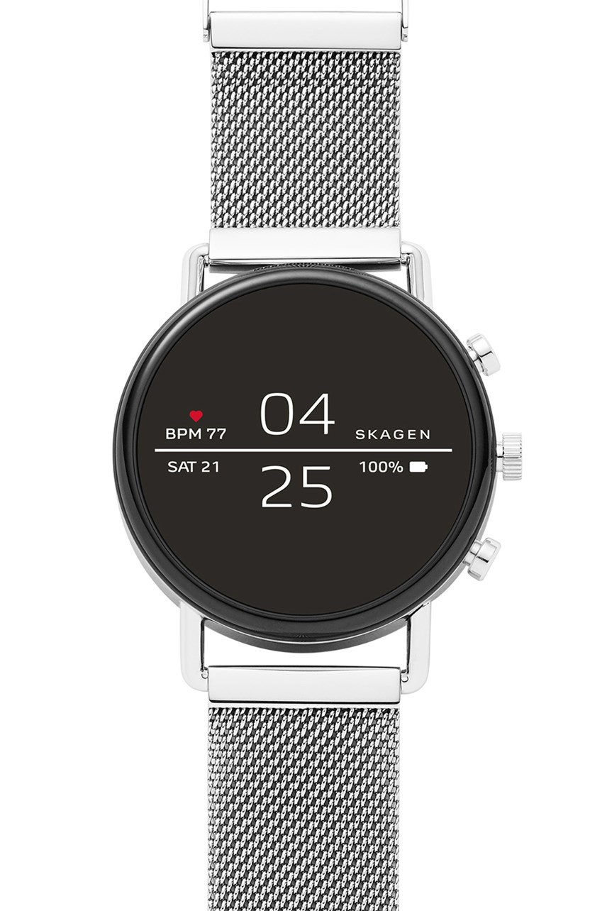 Falster Silver-Tone Smartwatch