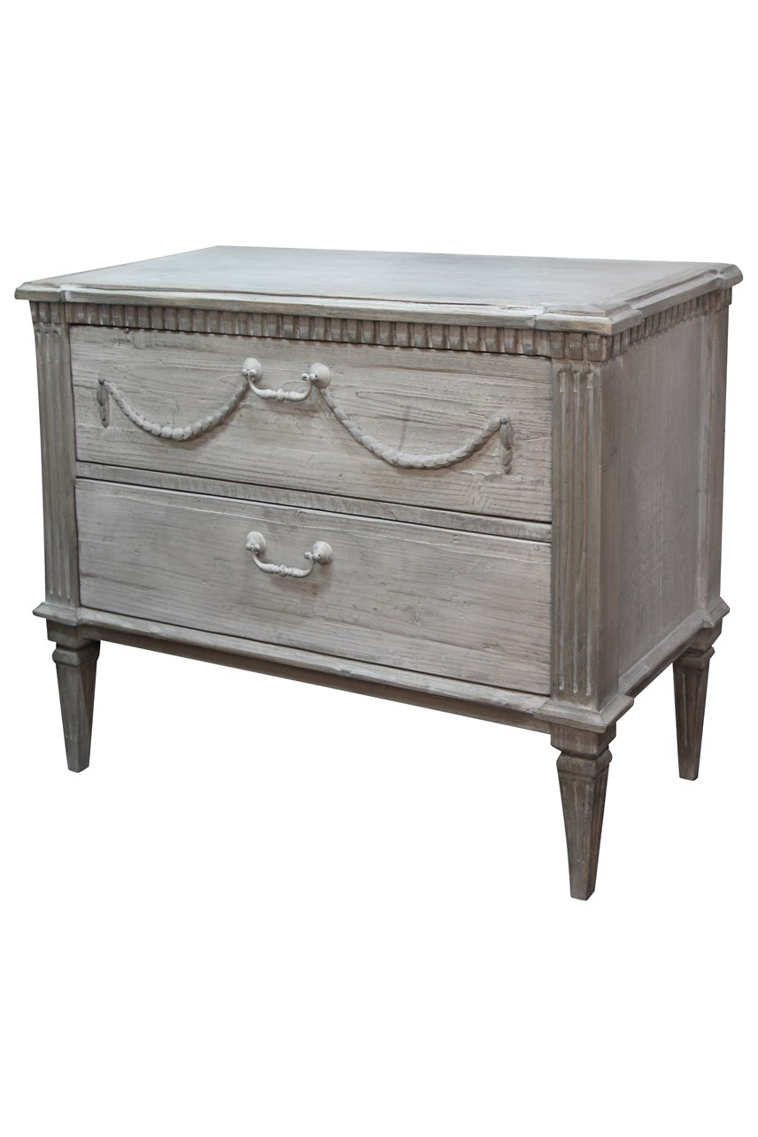 Bronte Commode with 2 Drawers