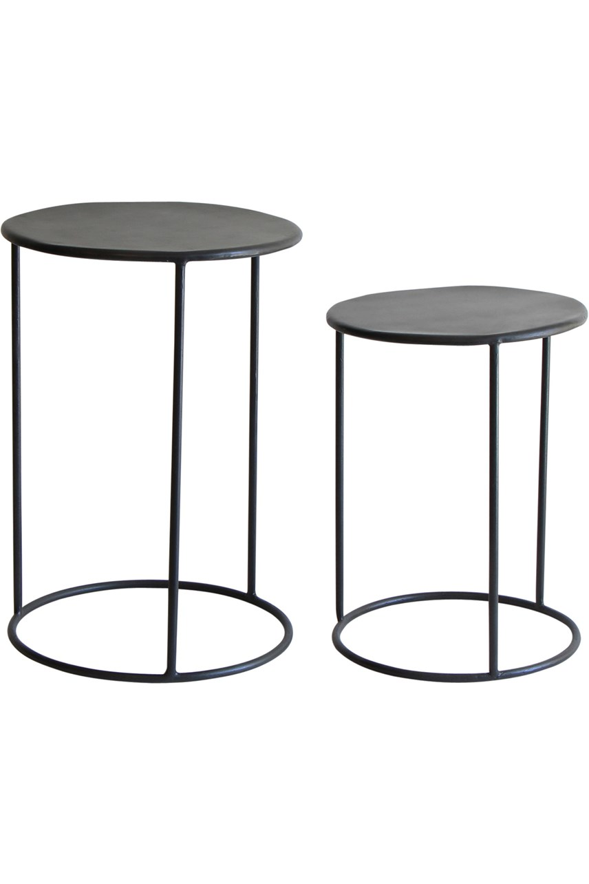 Phillip Iron Nesting Table Set of 2