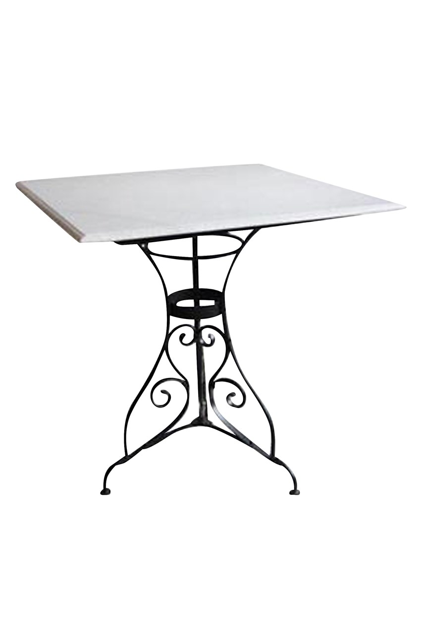 Paris Marble Top Square Table