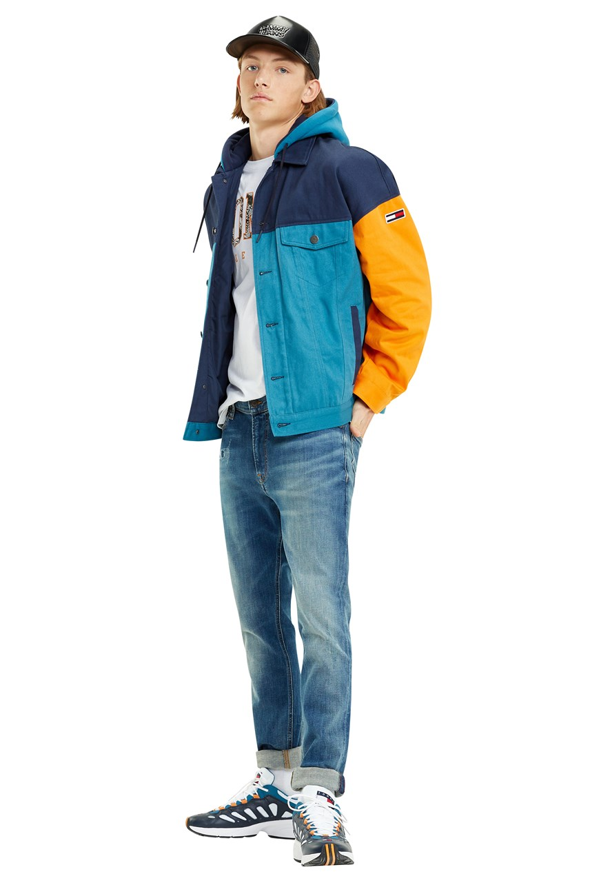 Colourblocking Jacket