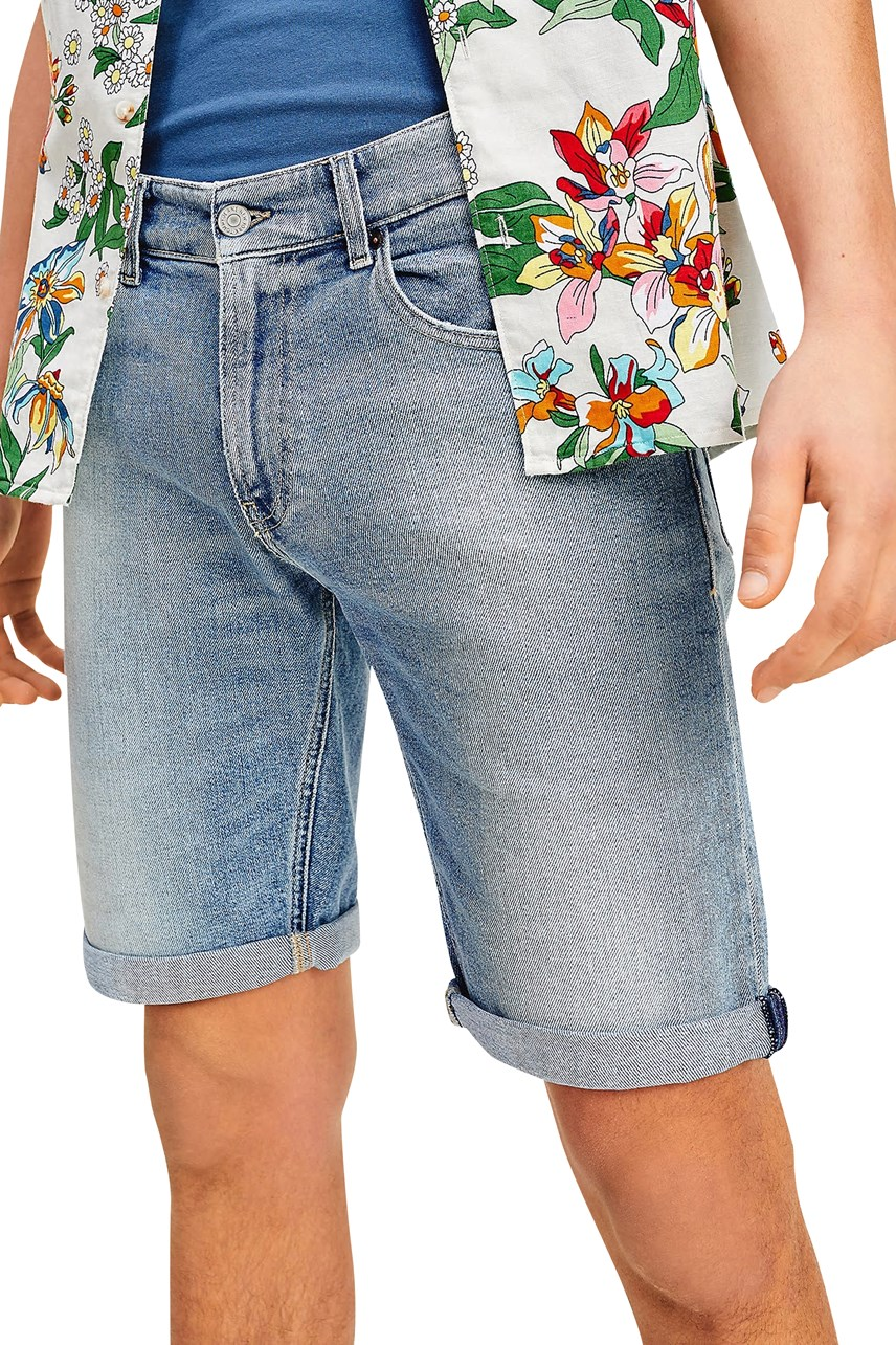 Ronnie Faded Denim Shorts