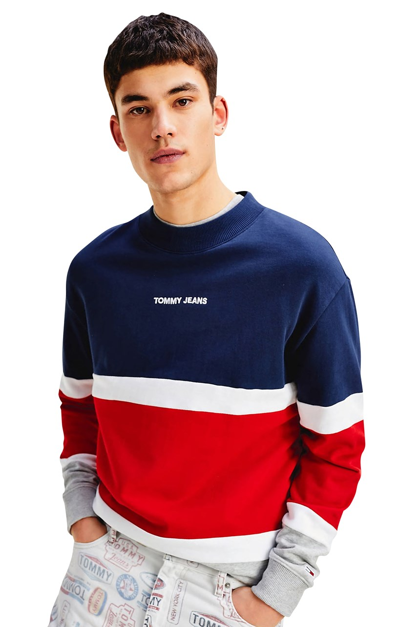 Retro Colourblock Sweatshirt
