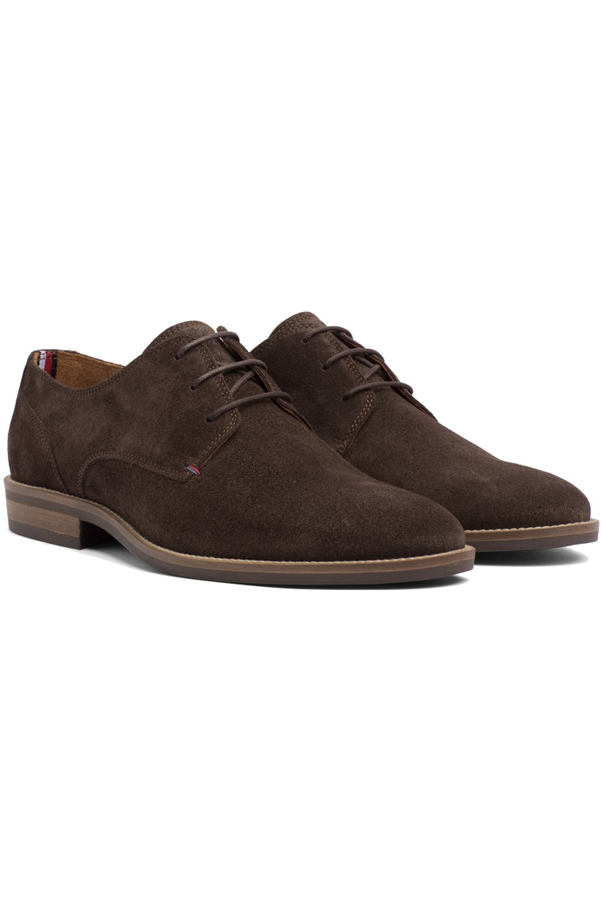Derby Suede Lace Up
