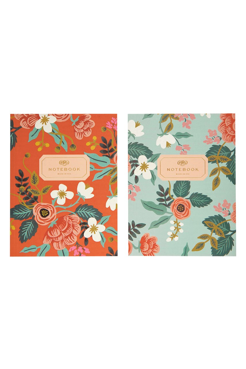 Birch Large Plain Notebook - Set Of 2