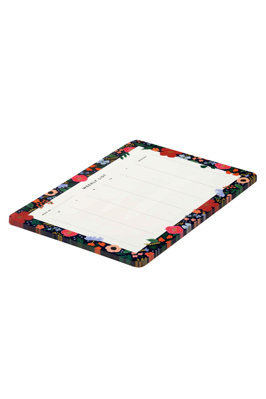 Wild Rose Weekly Deskpad