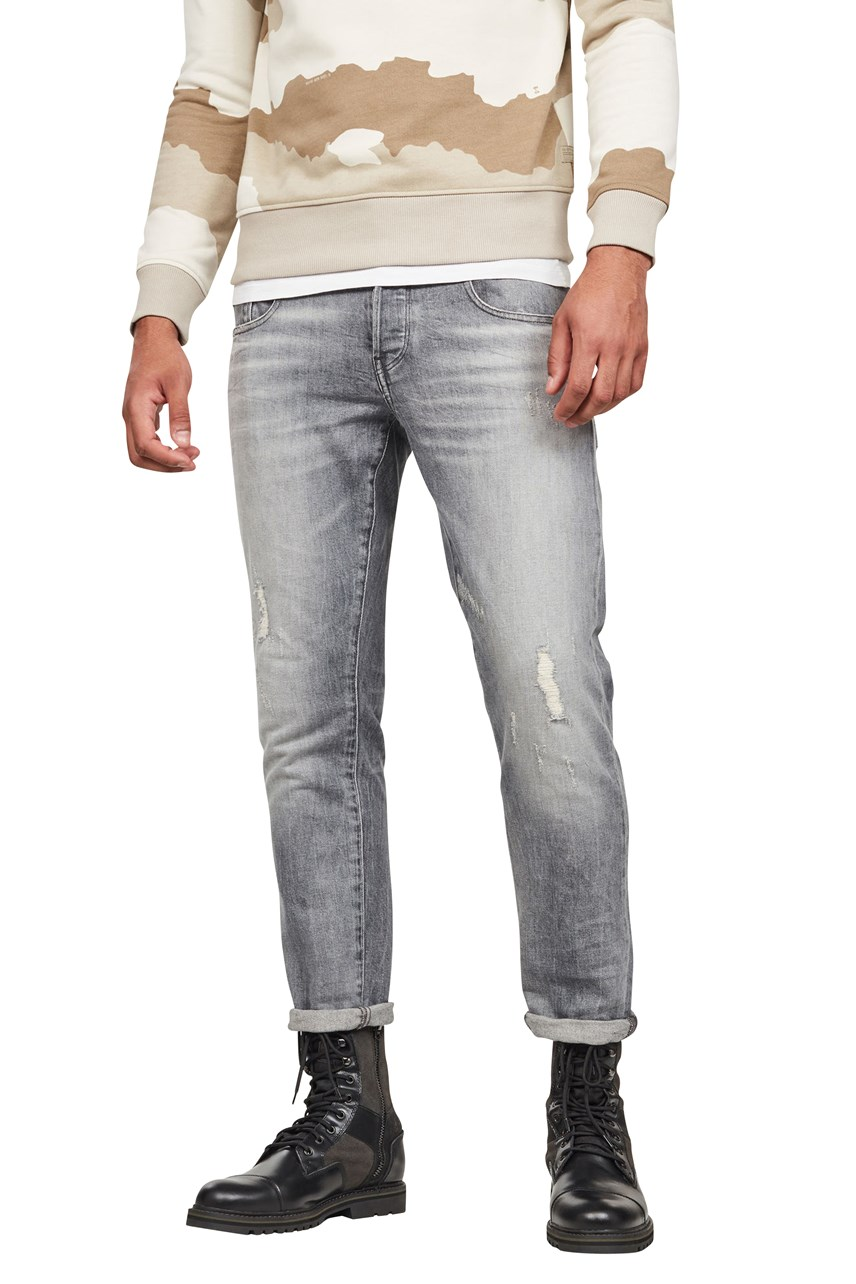 Radar Zip Straight Tapered Jeans