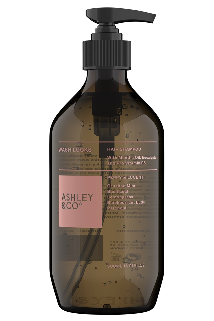 Wash Locks Balanced Shampoo - Peppy & Lucent