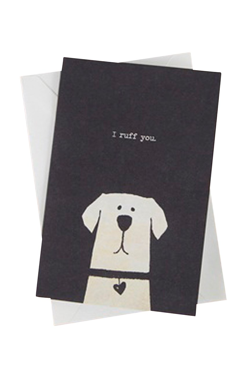 I Ruff You Card