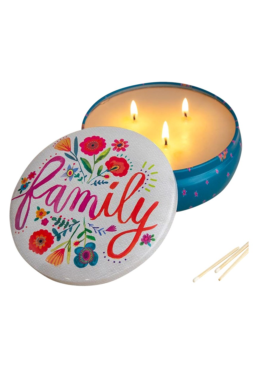 Large Candle Tin Family