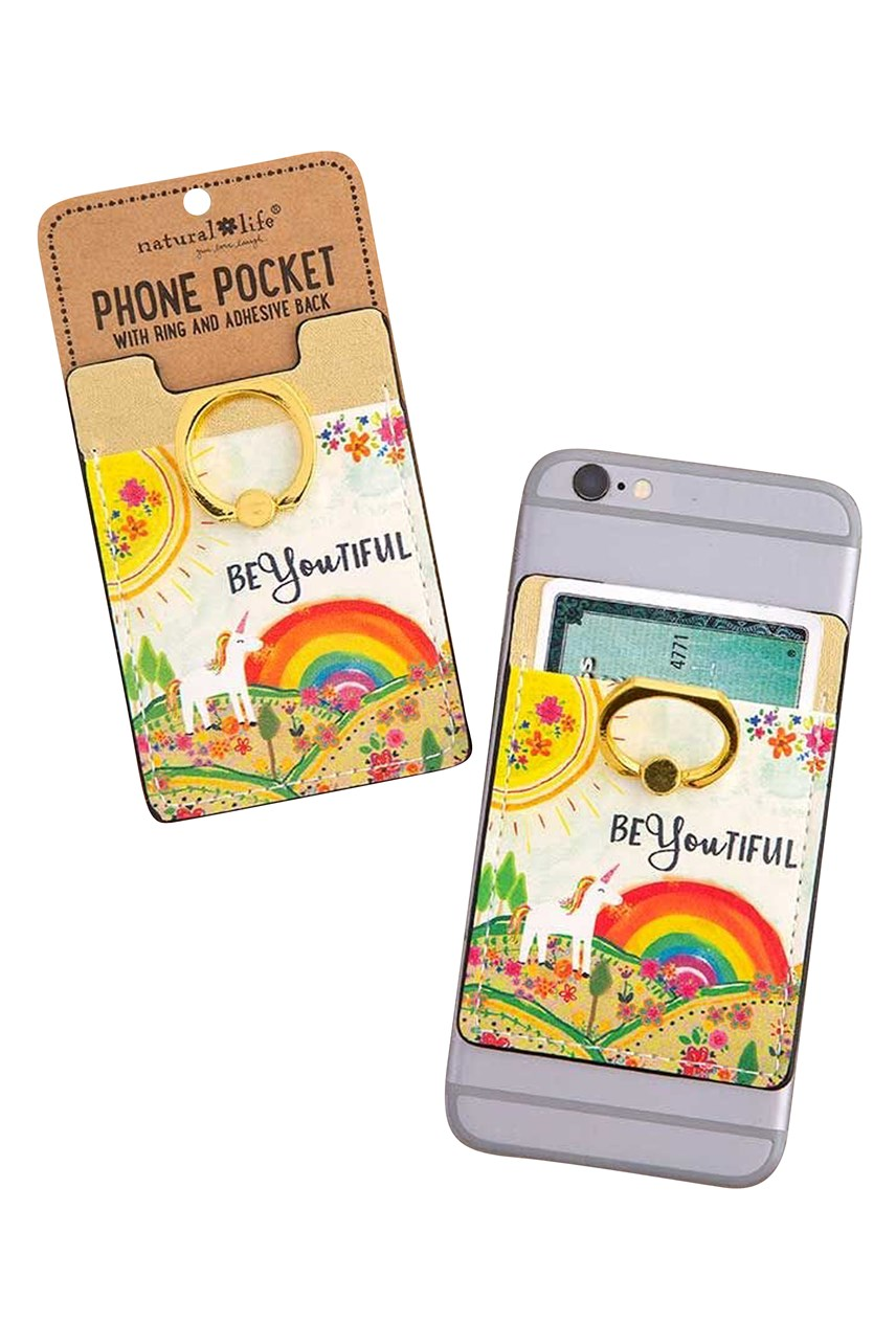 Beyoutiful Phone Pocket Ring