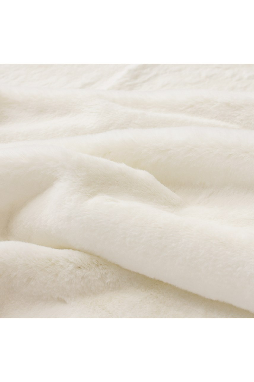 Faux Fur Polar Bear Throw