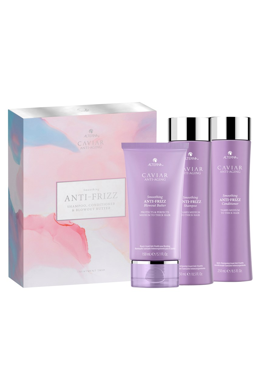 CAVIAR Anti-Aging Smoothing Anti-Frizz Treatment Trio