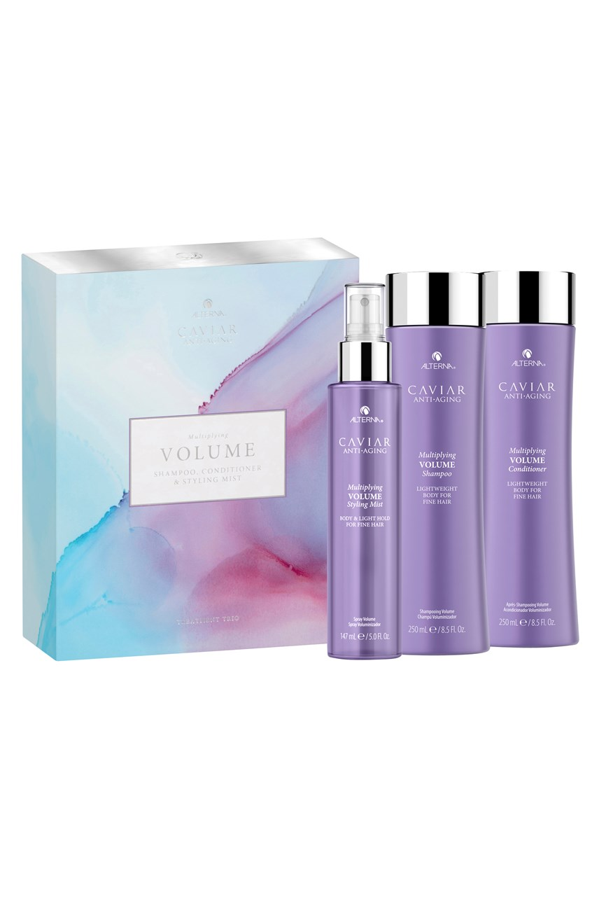 CAVIAR Anti-Aging Multiplying Volume Treatment Trio