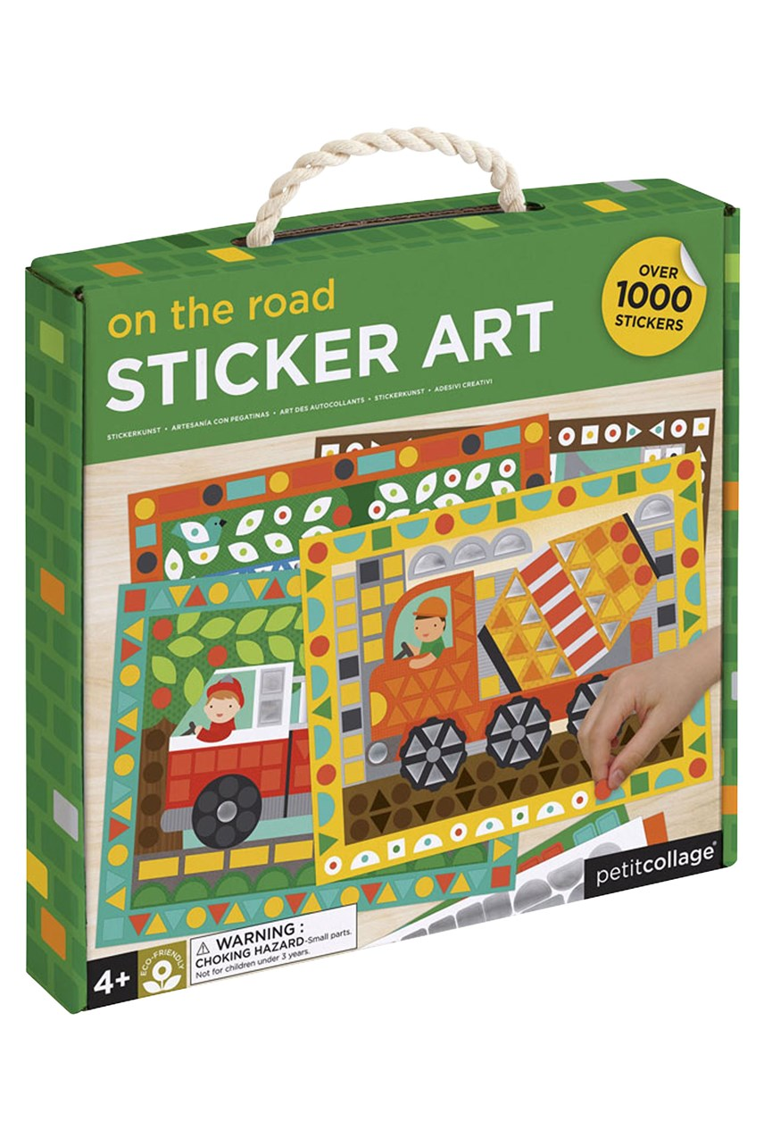 On The Road Sticker Activity Set