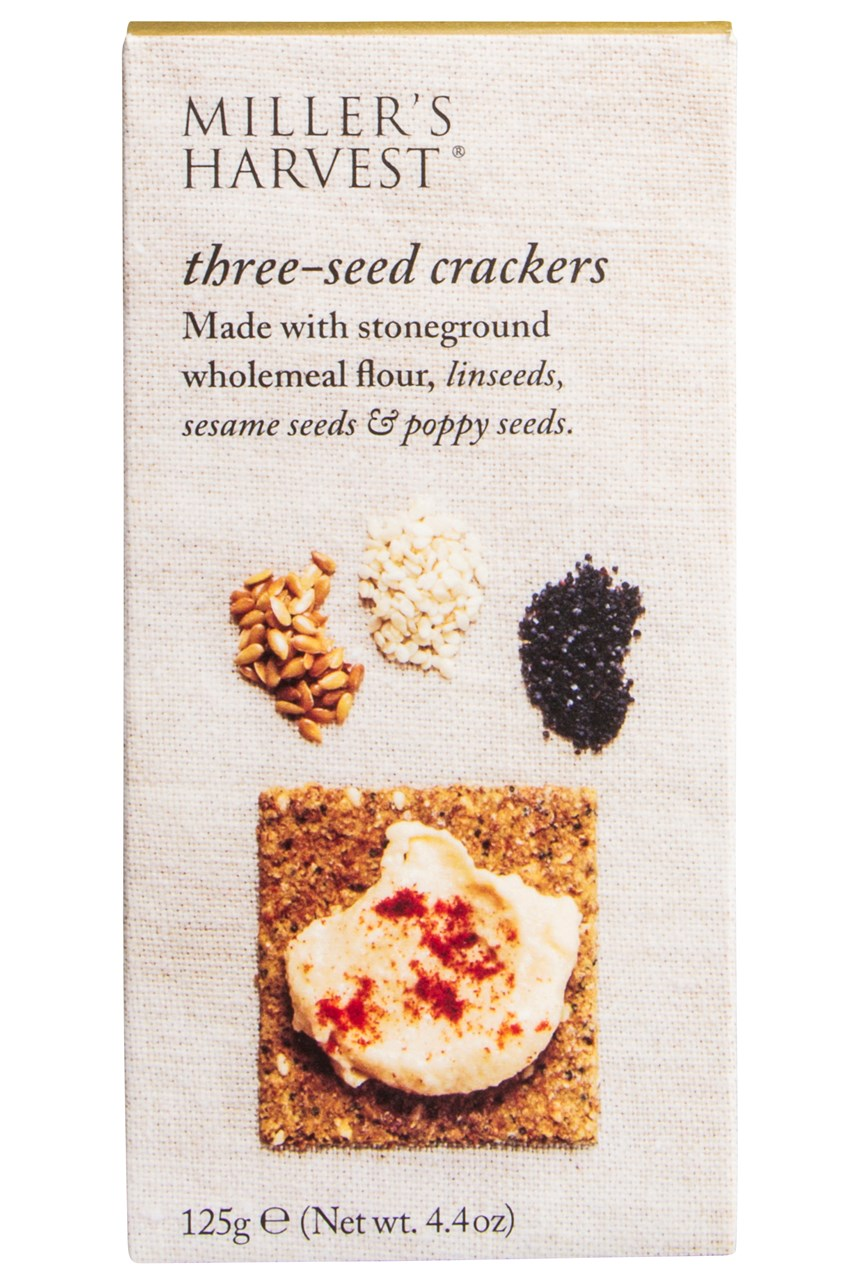 Three-Seed Crackers