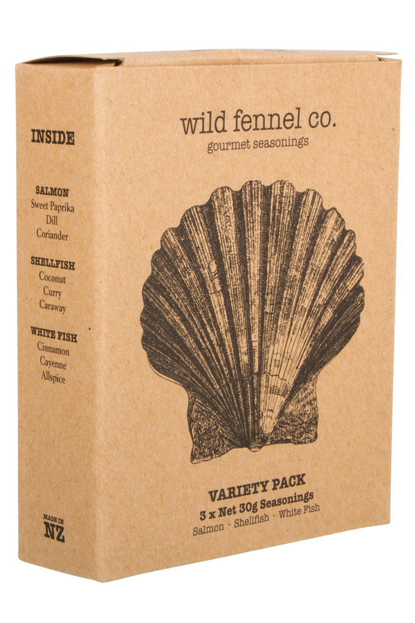 Fish Seasonings Variety Pack