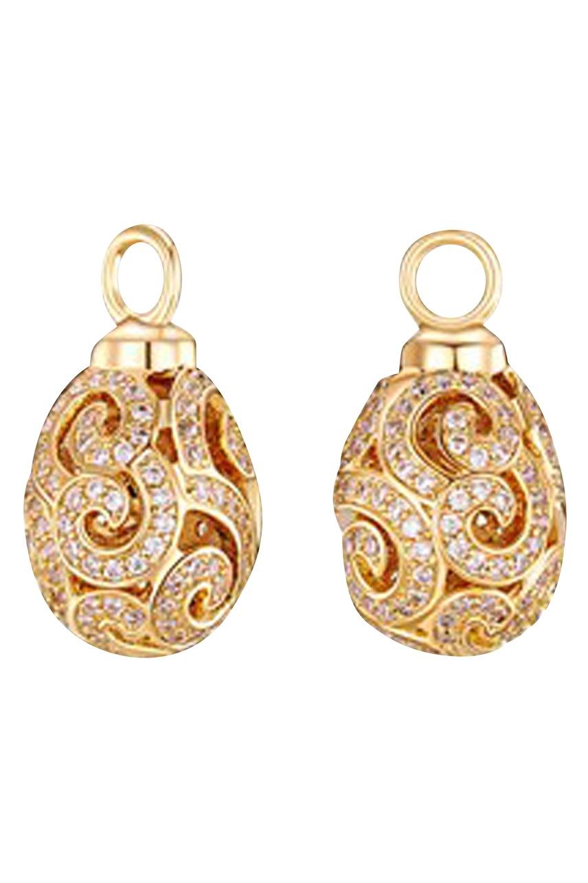 Gold Imperial Ear Charms