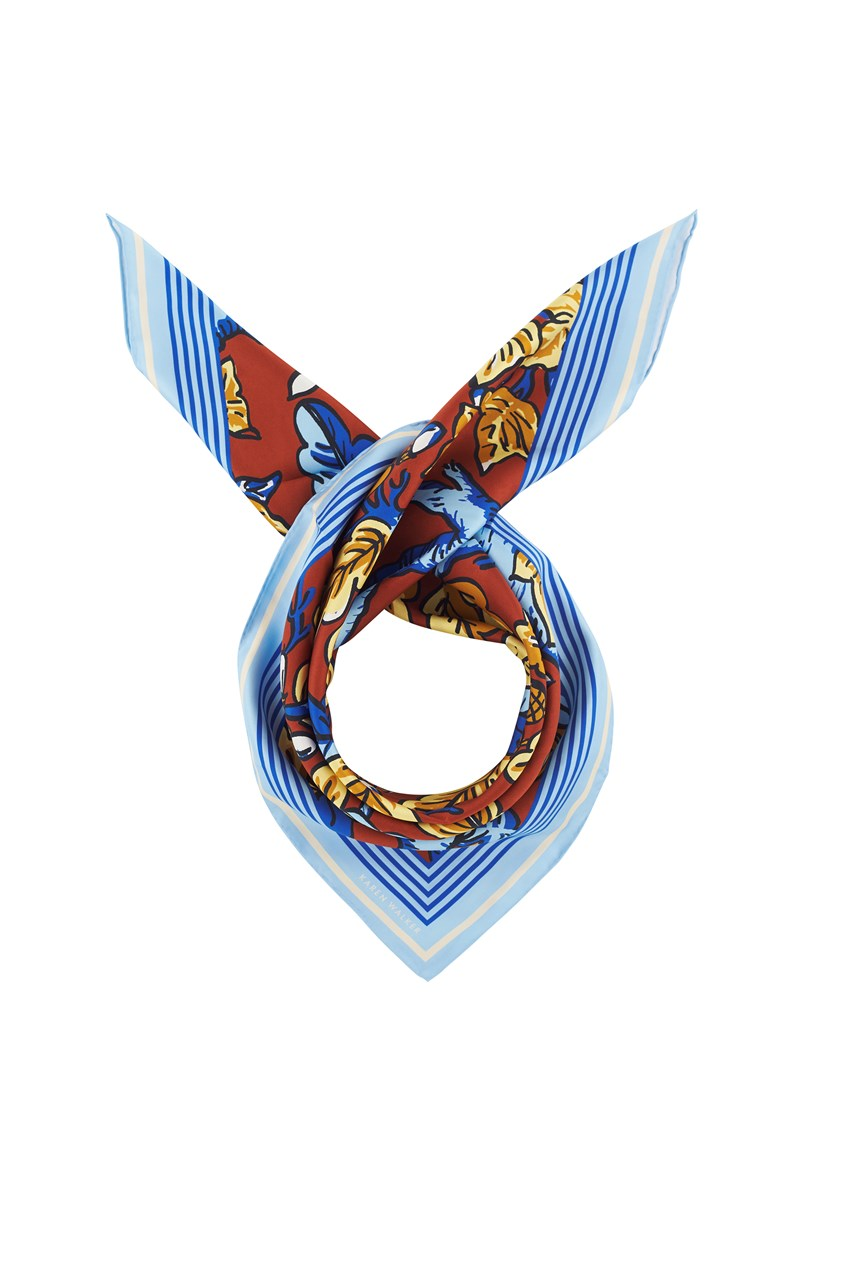 Bloom Acorn Silk Scarf