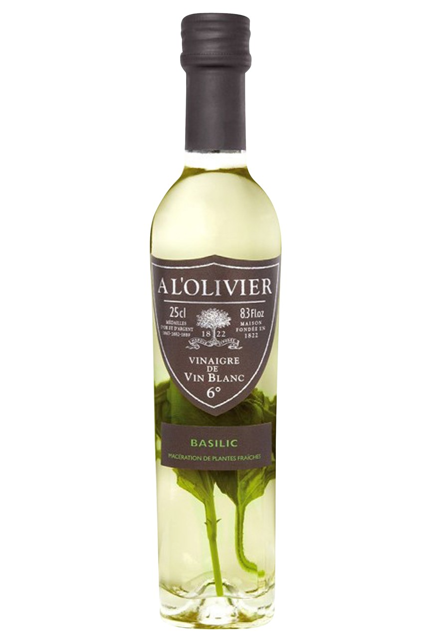 White Wine Vinegar With Basil 250ml