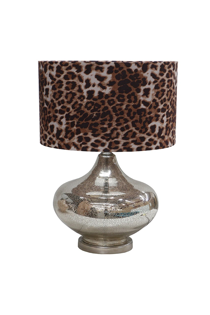 Mercury Leopard Lamp