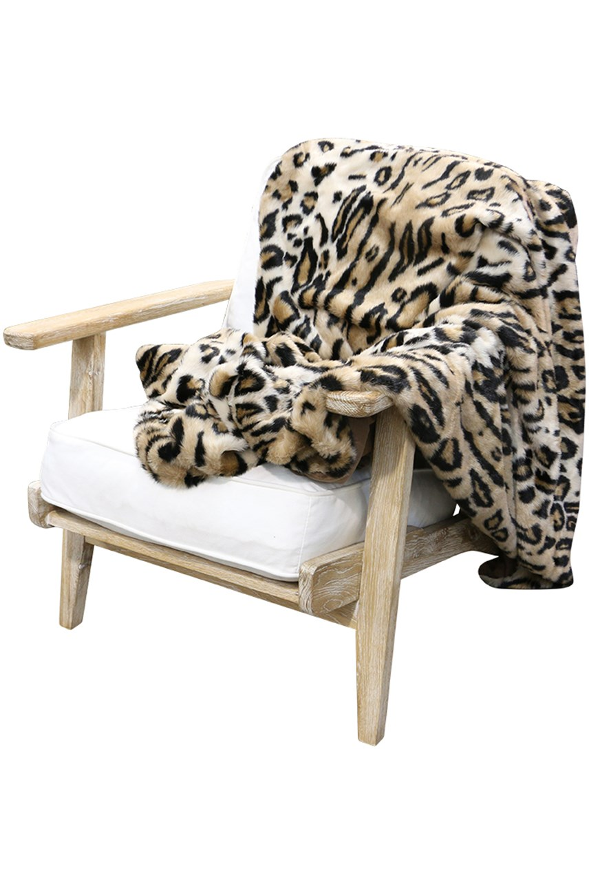 Larry Faux Fur Throw
