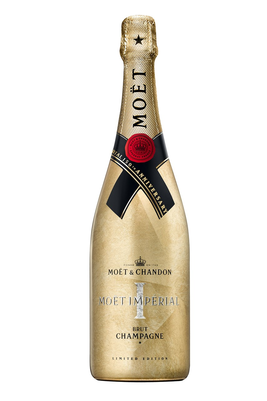 Moët & Chandon Imperial Limited Edition Festive Bottle