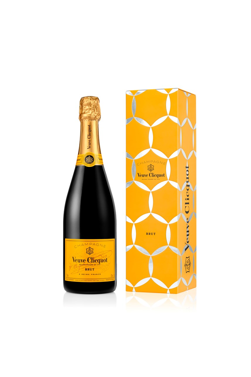Veuve Clicquot Yellow Label Comet Tin
