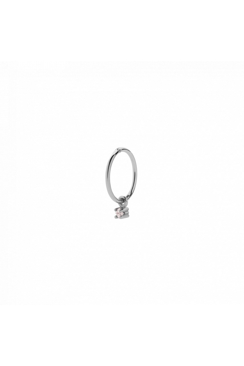 Stella Endless Hoop Earring - Single