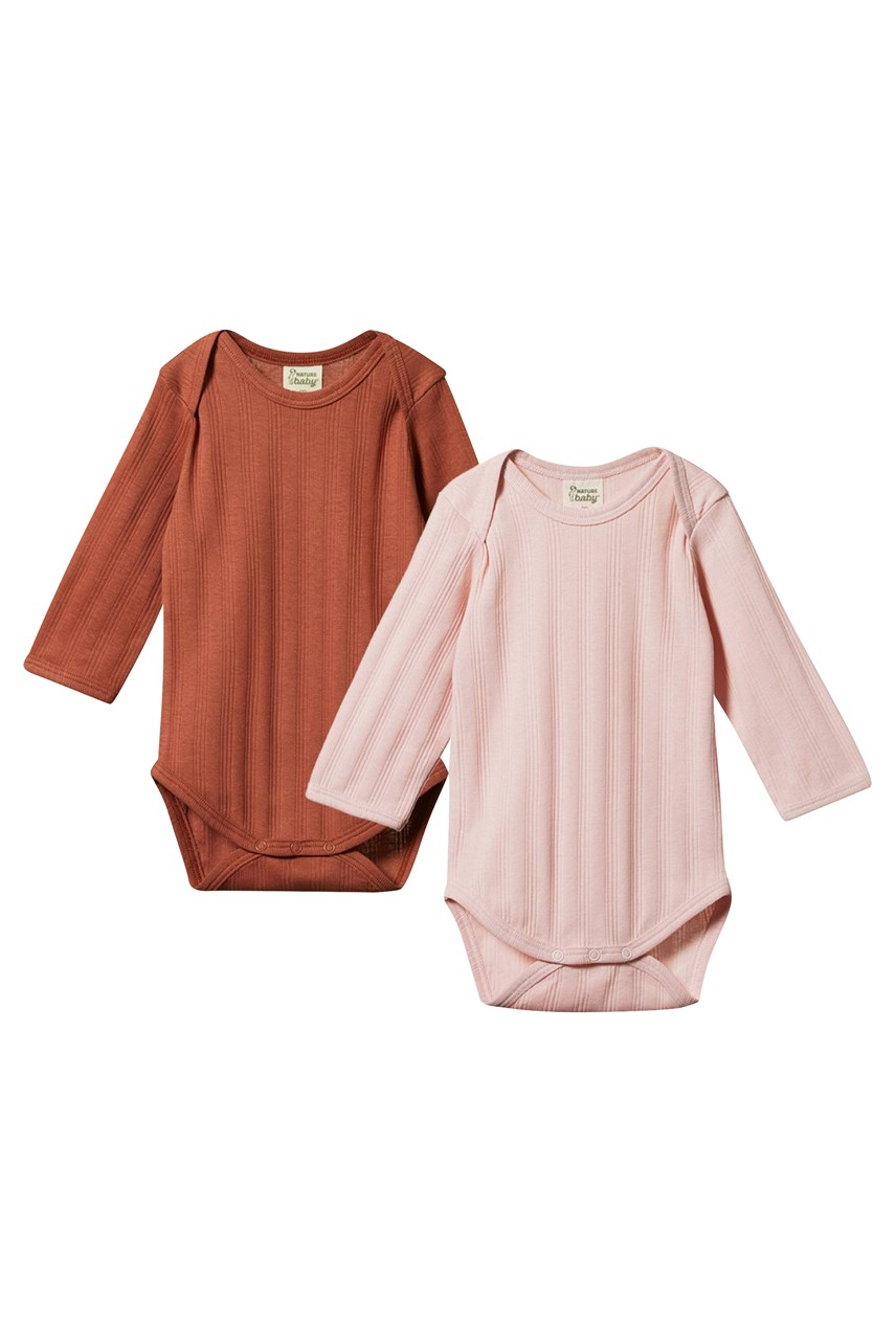 Long Sleeve Bodysuit - 2 Pack