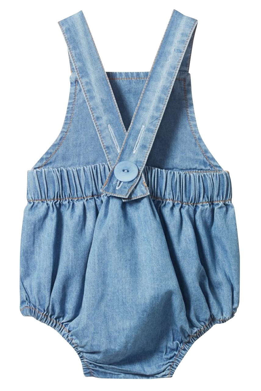 Chambray Georgie Romper