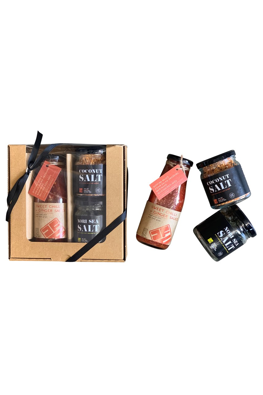 Salts And Chilli Sauce Gift  Box