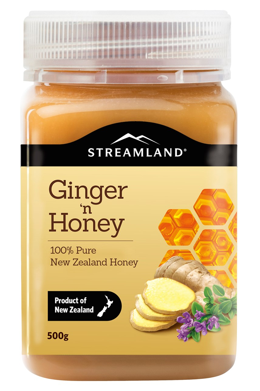 Streamland Ginger Honey