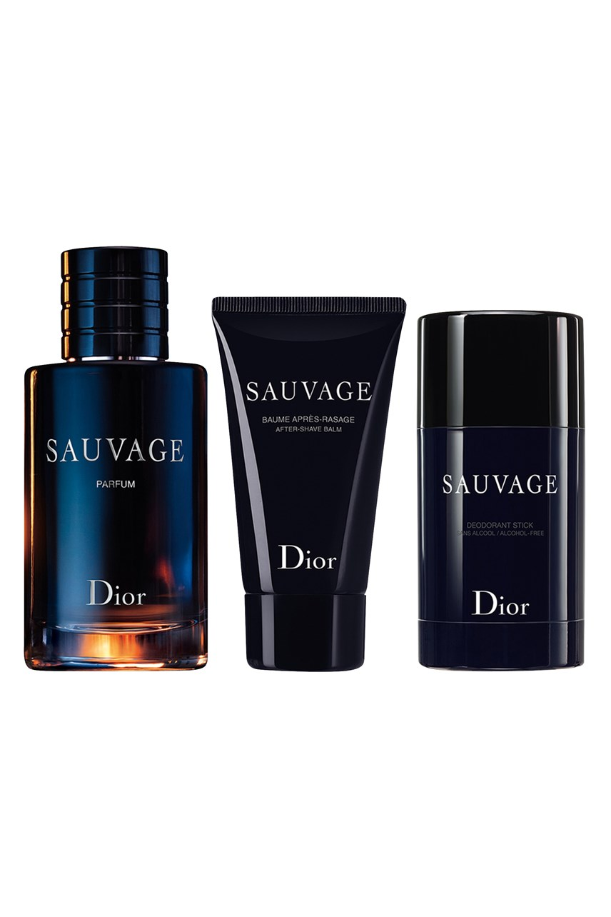 Dior | Sauvage | Sauvage  Fragrance Set - Parfum, After-Shave Balm, Deodorant