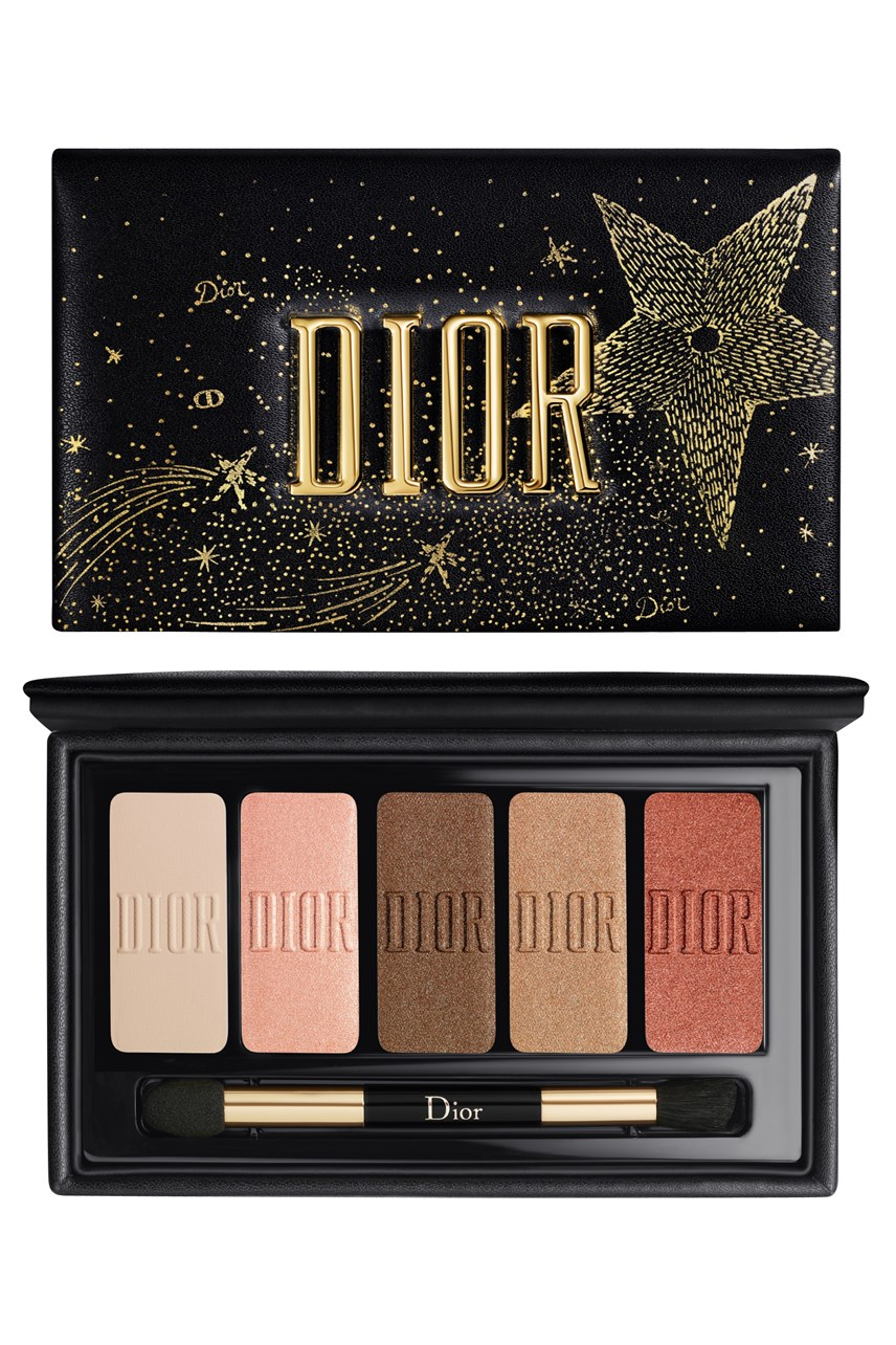 Dior | Specific lines  | Sparkling Couture Palette Eye Makeup Palette - Essentials for Sparkling Eyes - 5 Eyeshadows