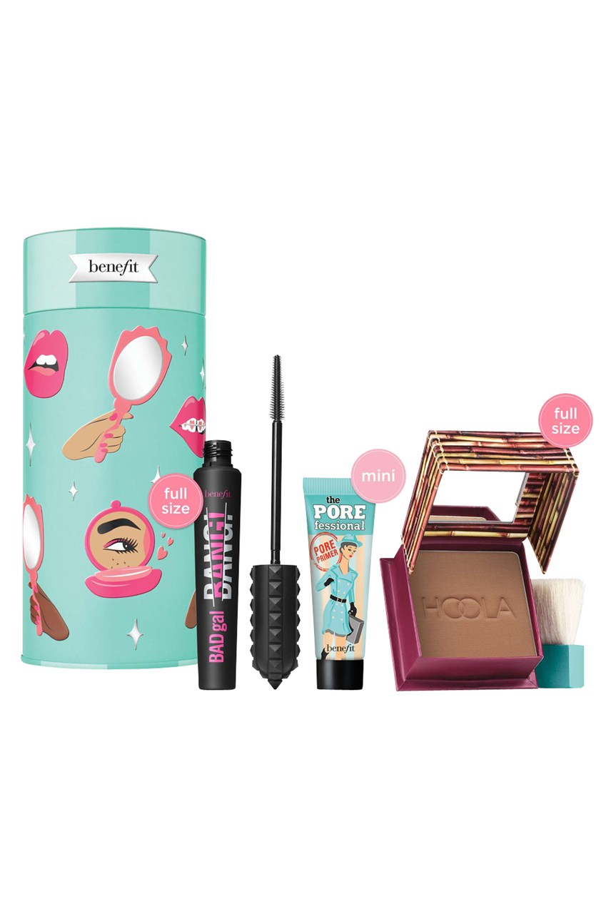 BADGAL TO THE BONE  Mascara, bronzer and primer holiday value set