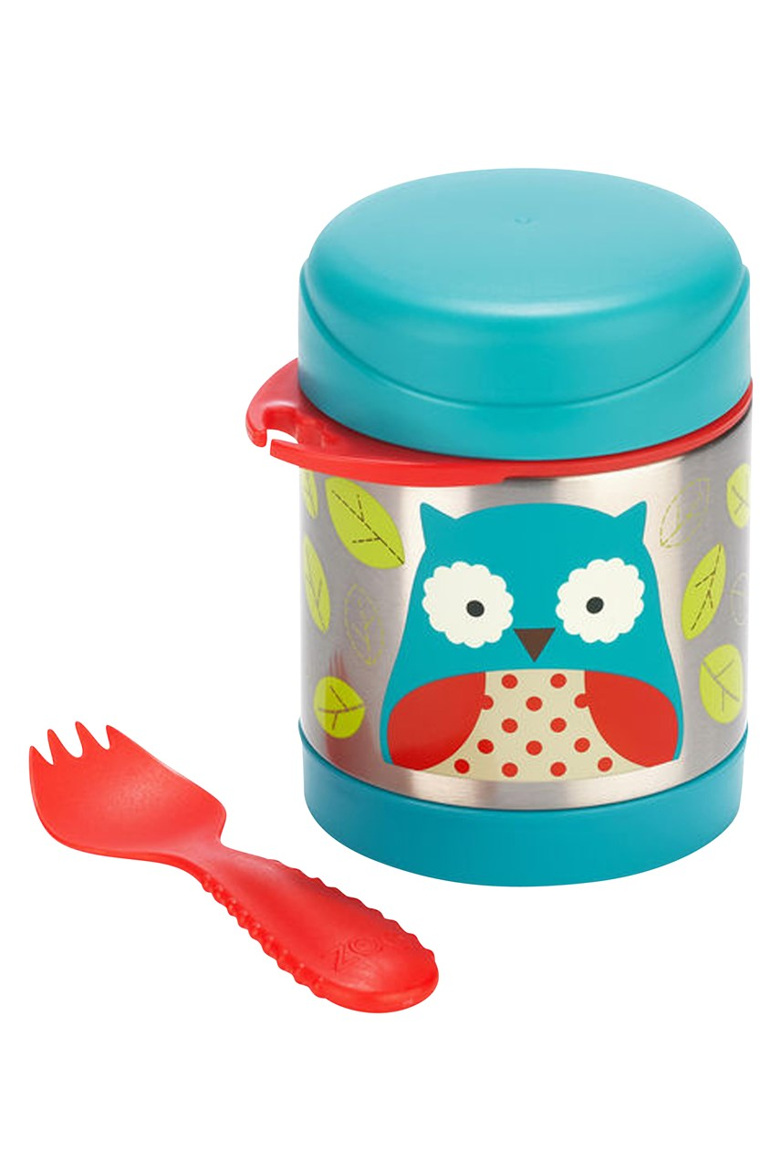 Owl Insulated Food Jar