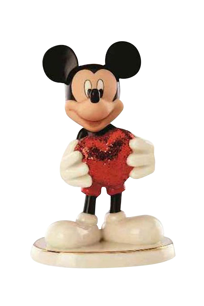 "Disney's Mickey ""Love Struck"" Figurine"
