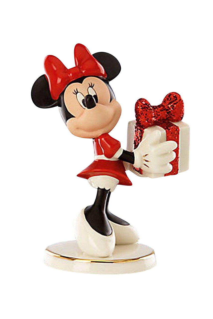 "Disney's Minnie ""Wrap with Love"" Figurine"