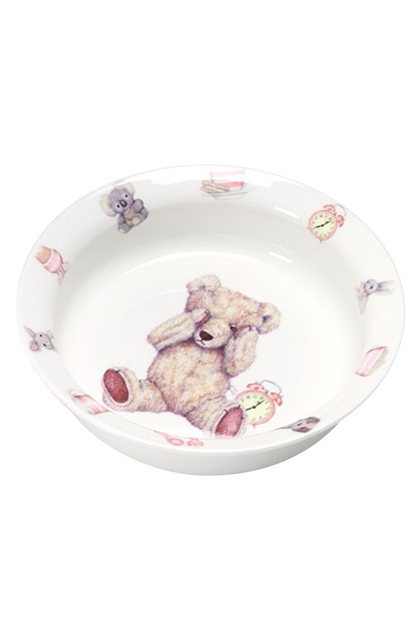 Teddy Time Pink Bowl
