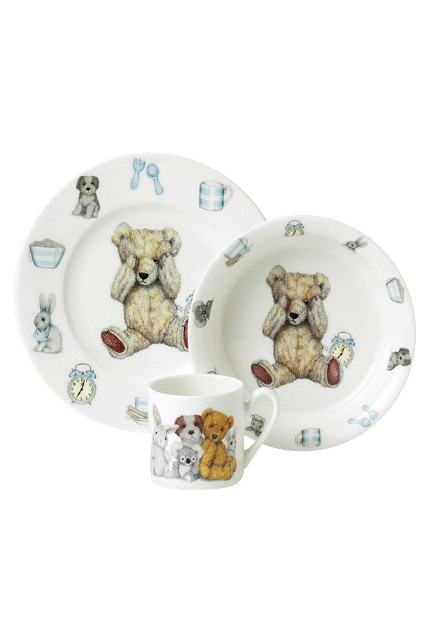Teddy Time Gift Set Blue