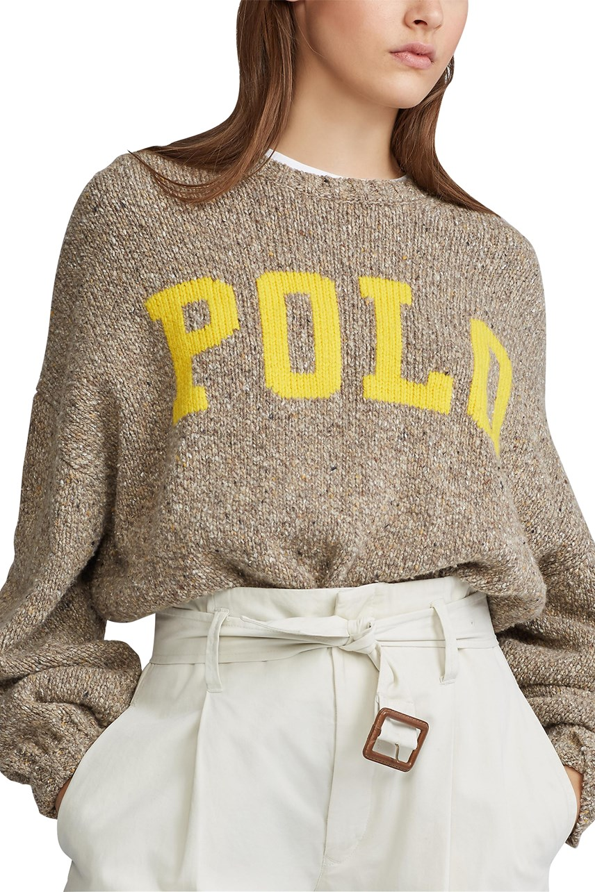Polo Wool-Blend Sweater