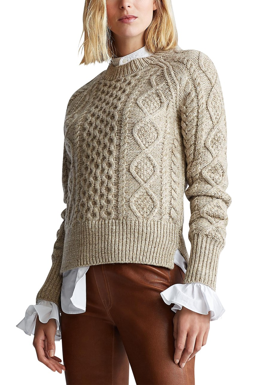 Aran Wool Sweater