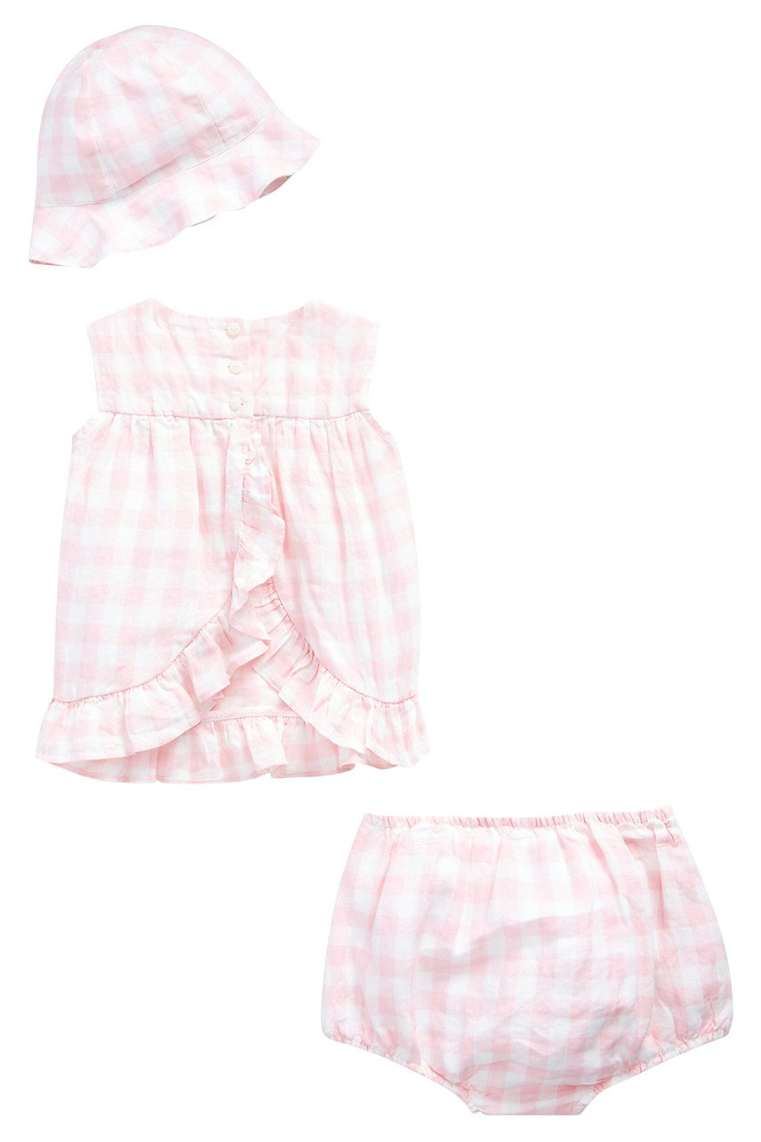 Gingham 3-Piece Set