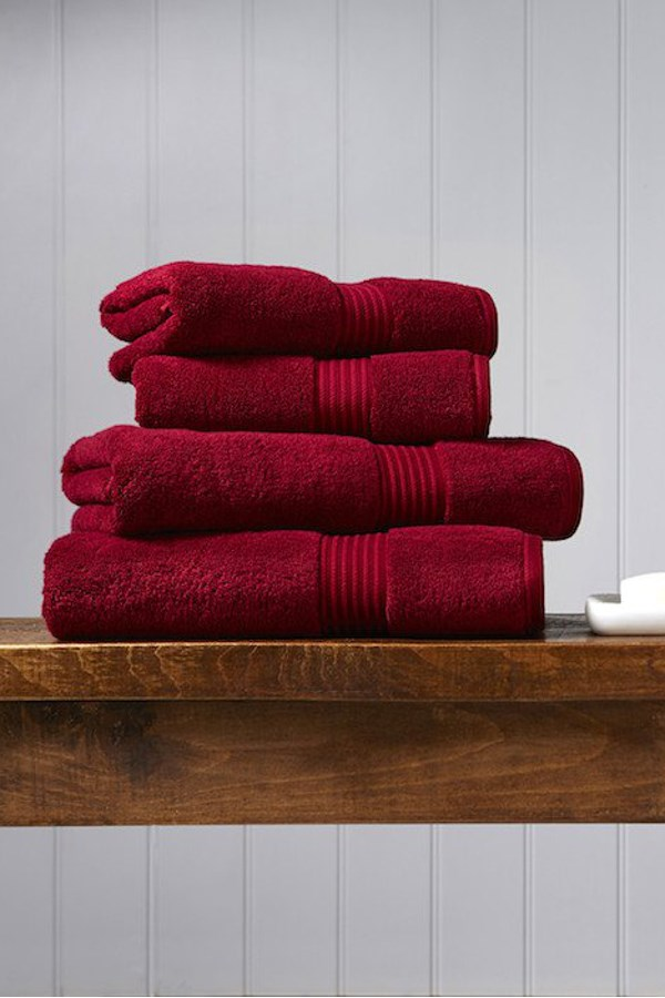 Christy Supreme Hygro Towel Collection - Cherry